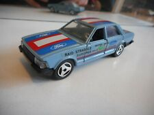 Hotwheels Ford Granada in Blue on 1:43