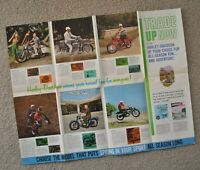 1963 Harley Brochure FL FLH Duo Glide XLH XLCH Sportster AH Topper BT BTH Pacer