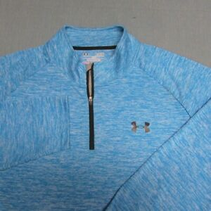 UNDER ARMOUR HEAT GEAR LONG SLEEVE POLY SHIRT--XL--SUPER COLOR!!--PERFECT!