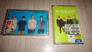 2 Weezer : Blue & Green Album THAILAND CASSETTE TAPE Rare!
