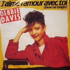 """Debbie Davis(7"""" Vinyl)J'aime L'amour Avec Toi-Wea-229 249450 7-48-1984-VG+/Ex"""