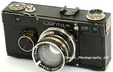 ZEISS Ikon CONTAX Ic 35mm Rangefinder made in 1933 + Rigid SONNAR 1:2 f=5cm Lens