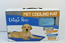 Pet Cooling Mat 24x30 Dog Cat Put On Top Of Pets Bed