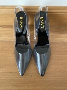 Envy Clear See Through Shoes Size 7