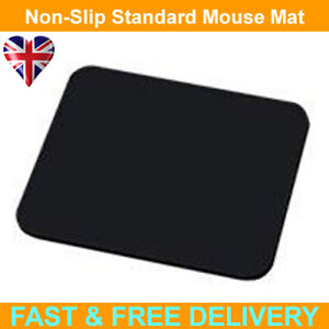 Mouse Mat Non Slip Mouse Pad Standard Basic Plain in Black, Red, Blue or Green