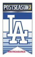 2020 MLB National League POSTSEASON Pins Los Angeles Dodgers Fans Banner Pin@!@