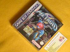 METROID FUSION NINTENDO GAME BOY ADVANCE NUOVO NUOVO SIGILLATO GBA ITA EDITION