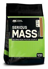 (€8.12/1Kg) Optimum Nutrition Serious Mass - 5600g - Schokolade  - Weightgainer