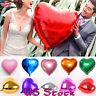 Heart Shape Foil Balloons Wedding Party Romantic Decoration Foil Balloons 18''