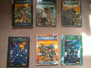 Warhammer 40K 3rd Edition Rulebook, Codices and Gorkamorka Uvver Book
