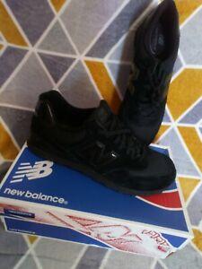 New Balance 547 Men Black Suede Trainers UK 12.5, USA 13,eur 47.5.  M574TBK...