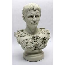 Greek Augustus Caesar Statue First Roman Emperor Gallery Bust Sculpture NEW