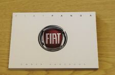 GENUINE FIAT PANDA MK3 4x4 TREKKING HANDBOOK OWNERS & AUDIO MANUAL 2011-2017