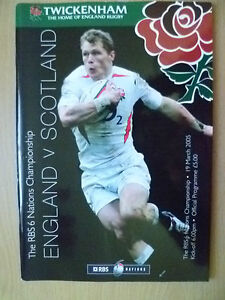 2005 Rugby RBS 6 Nation Championship- ENGLAND v SCOTLAND, 19 March (Exc*)