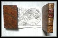 1775, Abbé Filassier, Eraste, ou l'ami de la jeunesse, 2 cartes repliées, BEL EX
