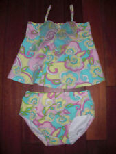* New Size 18 Month Infant Girls 2 Piece Swimsuit New With Tag & Free Shipping
