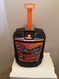 Hot Wheels Rollin' 100 Cars Carrying Case Storage -