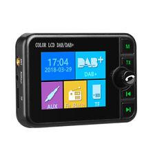 In Car DAB Digital Radio Adapter BT Handsfree Call SD Card FM Transmitter Music