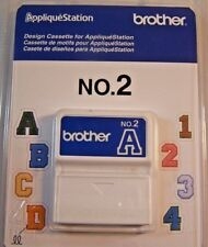 New listing Nip Design Cassette for Brother Applique Station No. 2 Sealed