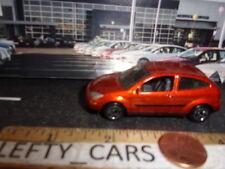 MATCHBOX METALLIC BURNT Orange FORD FOCUS 2DOOR CAR- SCALE 1/57 -1999