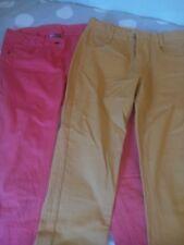 2 pantalons toile 12 ans