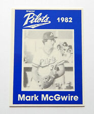 1982 Anchorage Glacier Pilots Mark McGwire RC Team Issued Card