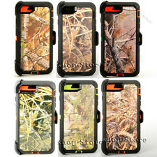 Defender iPhone 7 & iPhone 8 & iPhone SE 2020 Realtree Case w/Holster Belt Clip