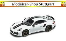 PORSCHE 911 TURBO S Exclusive Edition SPARK 1:43 carreraweißmetallic Ltd. Edition