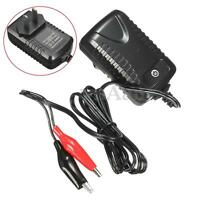 6V Volt 500MA Black & Red Sealed Lead Acid Rechargeable Battery Charger Adapter