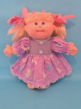 """Vintage Cabbage Patch Baby Doll Mattel First Edition 14"""" Blonde Blue Eyes"""