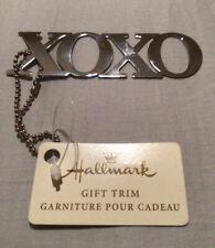 Hallmark Xoxoxo Silver Gift Trim