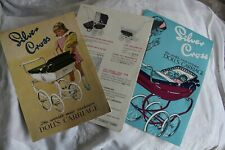 Silver Cross Dolls pram Catalogues 1965 1966 1967; Copies from archive originals