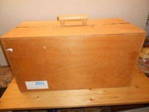 ZEG Schreiner Werkzeugkoffer mit versch. Werkzeugen