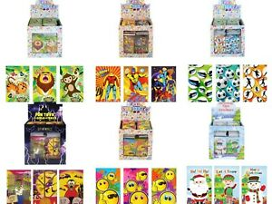 Assorted Designs Mini Notebooks Notepads Party Bag Toys Fillers
