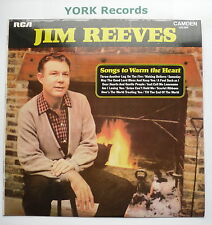 JIM REEVES - Songs To Warm The Heart - Ex Con LP Record RCA Camden CDS 1099