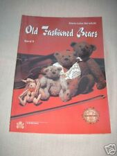 Old Fashioned Bears M-L Barwitzki 4 Schnittmuster NEU
