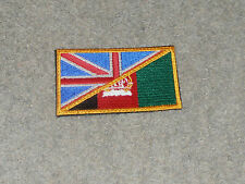 BRITISH / AFGHANISTAN FLAG PATCH - NEW