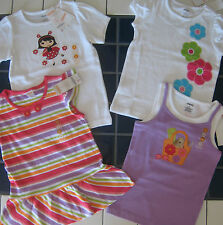 New Gymboree Top Lot Little Girl size 6 short-sleeved $90 MSRP summer NWT knit
