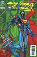 ACTION COMICS #23.1 CYBORG #1 3D LENTICULAR COVER NEAR MINT 2013 NEW 52 (C639)