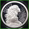 2019 2oz Justice Proof Silver Shield MiniMintage .999 Silver Round