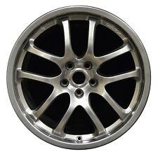 """19"""" Iinfiniti G35 2005 2006 2007 Factory OEM Rim Wheel 73683 Hyper Silver FRONT"""