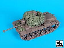 Black Dog 1/35 M48A3 Patton Tank Sandbag Armor & Accessories Set (Dragon) T35163