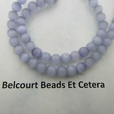 Grey Cat's Eye Beads 65 PC  6mm Shape:  Round - Ready to Use in Any Project!