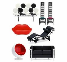 Miniature Designer Chair Collection Vol.4 complete all 6 assorted set