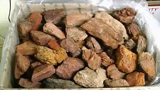 Red Rock - Garden Reptile Aquarium Landscaping Stone Gravel Pebbles