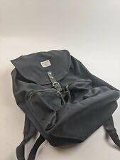 Sandqvist Organic Cotton Drawstring Backpack Black