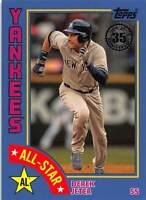 2019 Topps 1984 Baseball All-Stars Blue Derek Jeter #84AS-DJ