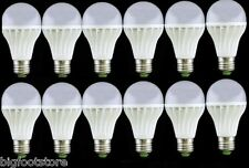 12PCS White bright Light E27 Dimmable 3W LED bulbs 85-265V 300LM End table LIGHT