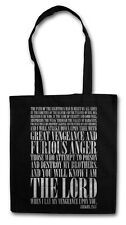 EZEKIEL 25:17 Hipster Shopping Cotton Bag - Pulp Fiction Vincent Vega Movie