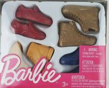 Barbie Ken Shoes Pack - Barbie Accessories - Mattel